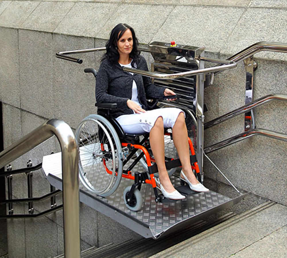 Electric wheelchair lift / Inclined Platform Lift