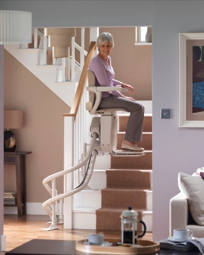 Stair lift / Chair lift for stairs for physically challenged