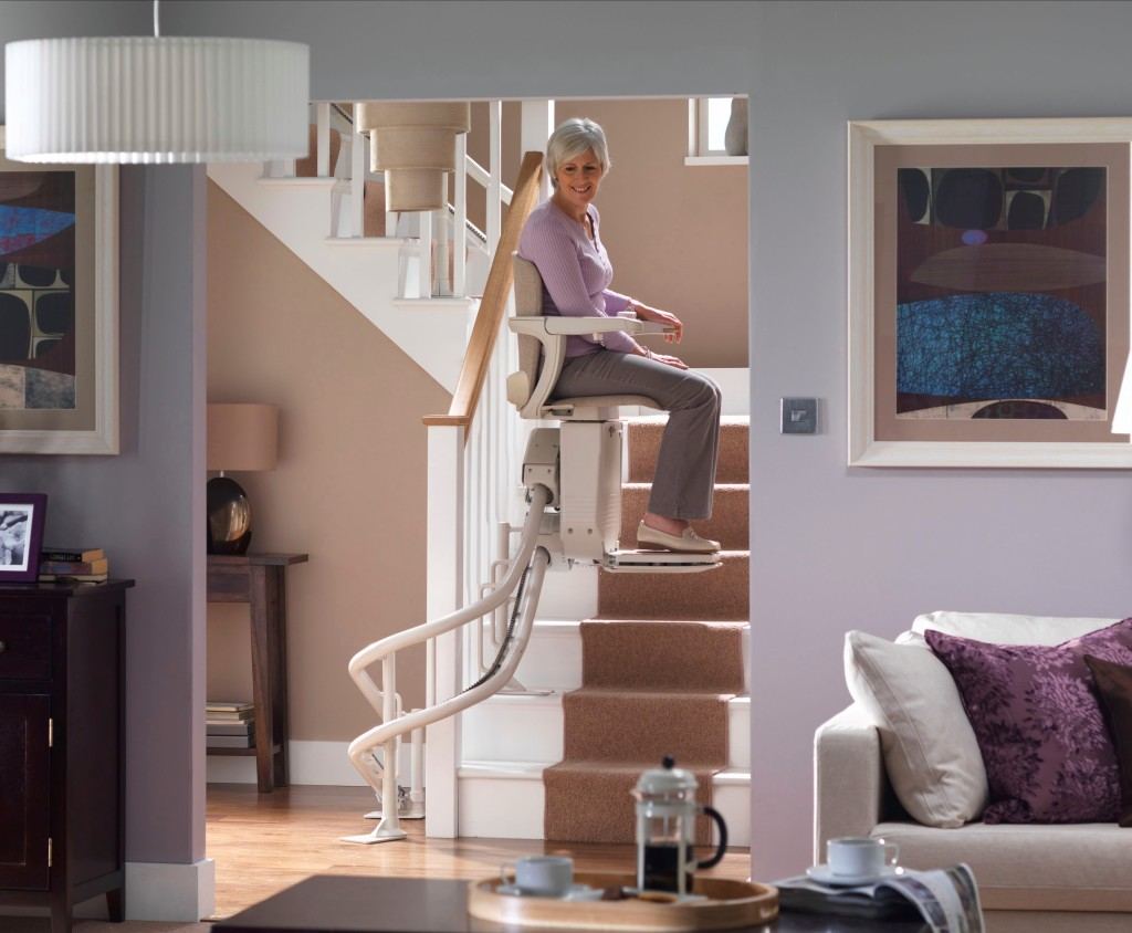 Stairlifts For Straight Curved Staircases Arian Singapore Arian