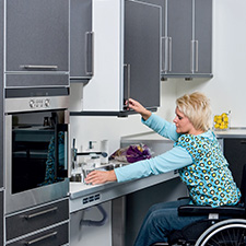 Kitchen Concepts for elderly & handicap
